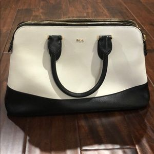 Ralph Lauren leather bag. Used couple of time